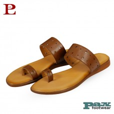 100% Genuine Leather Sandal For Women (PL-11002)