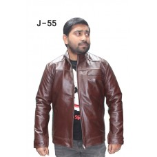 Leather Men's Jacket (J-55)