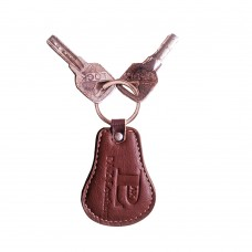 Leather Key Ring (PW-622)