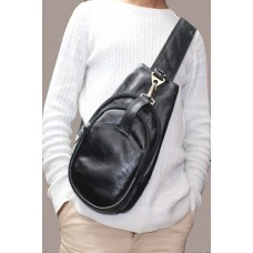 Leather Biker Bag (B-336)
