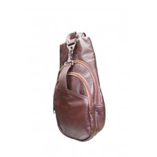Leather Biker Bag (B-320)