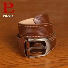 Leather Formal Belt (PB-503)