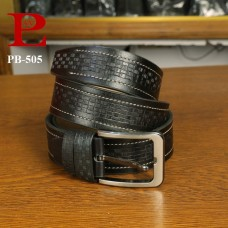 Leather Formal Belt (PB-505)
