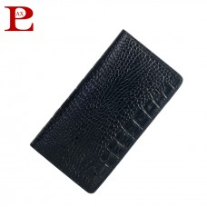 Crocodile Look Genuine Leather Mobile Wallet (PW-283)