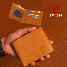 Leather Slim Wallet (PW-240)