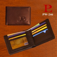 Leather Slim Wallet (PW-246)